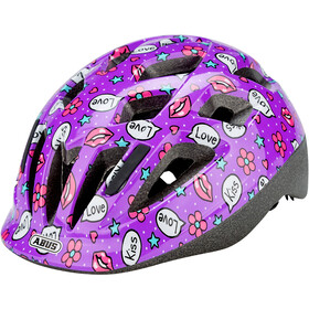 ABUS Smooty 2.0 Casque Enfant, purple kisses